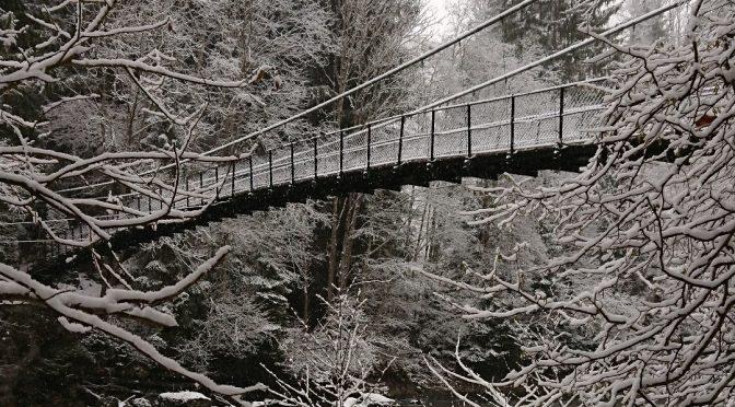 Pont Turrian sous la neige
