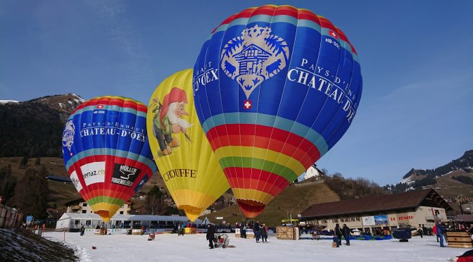 A Château-d'Oex, les Ballons sont au Rendez-vous